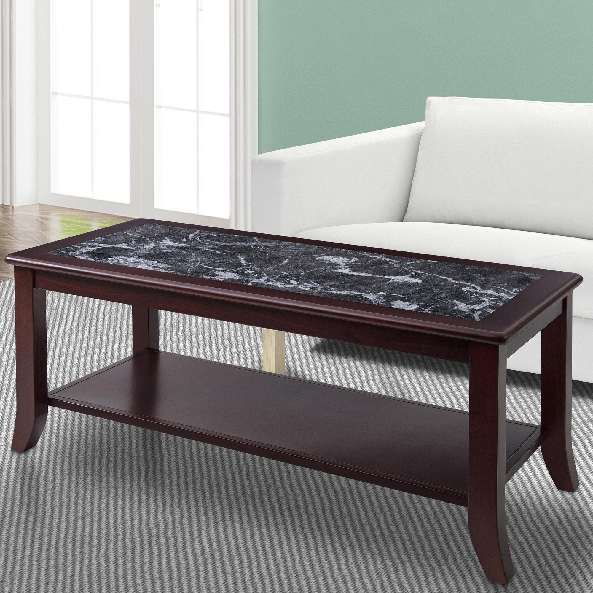 Marvelous Fenske Marble Top Coffee Table Cjindustries Chair Design For Home Cjindustriesco