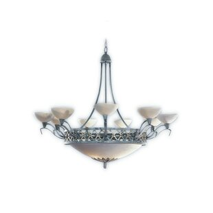 Zanin Lighting Inc. Padova 12-Light Shaded Chandelier