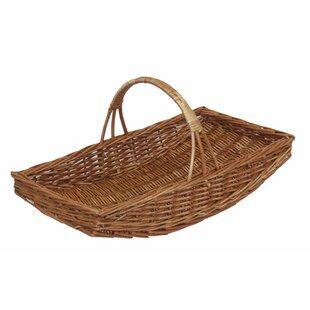 Garden Wicker Basket By Brambly Cottage