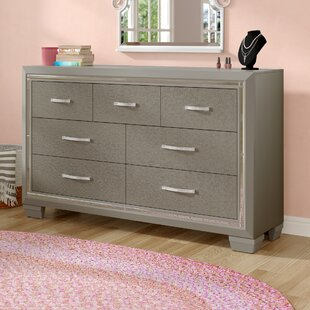 Harriet Bee Rocky 7 Drawer Dresser