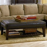 Delarosa Tufted Cocktail Ottoman by Loon Peak®