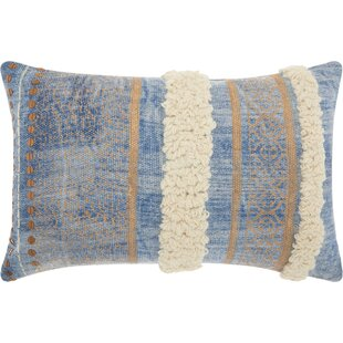 Adali Contemporary Cotton Lumbar Pillow