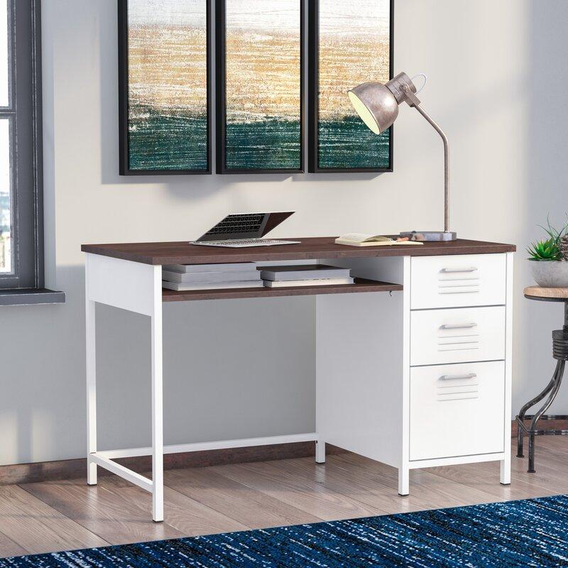 Laguna Niguel Metal Locker Style Computer Desk