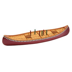 Canoe Cribbage Board by Outside Inside