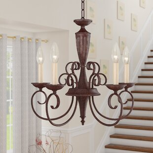 Charlton Home Ellett 5-Light Chandelier