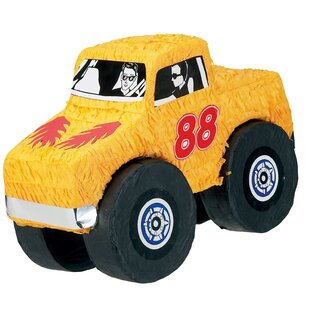 Monster Truck Pinata Paper Disposable Party Favor