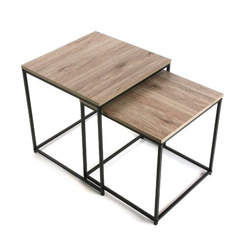 2 Satztische Harney LoftDesigns | Wohnzimmer > Tische > Satztische & Sets | LoftDesigns