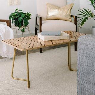 Allyson Johnson Tiny Polka Dots Coffee Table by East Urban Home SKU:DA715438 Reviews