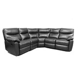 Leather Corner Recliner Sofa | Wayfair.co.uk