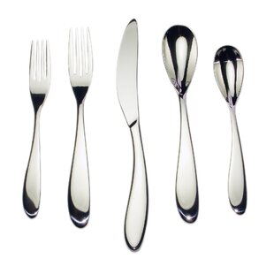 20 Piece 18/10 Stainless Steel Flatware Set, Service for 4