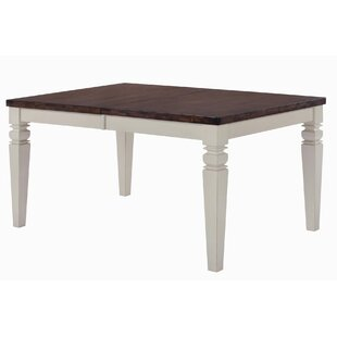 Adalgar Extendable Solid Wood Dining Table by August Grove Herry Up