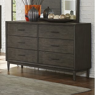 Wrought Studio Beaverton 6 Drawer Double Dresser