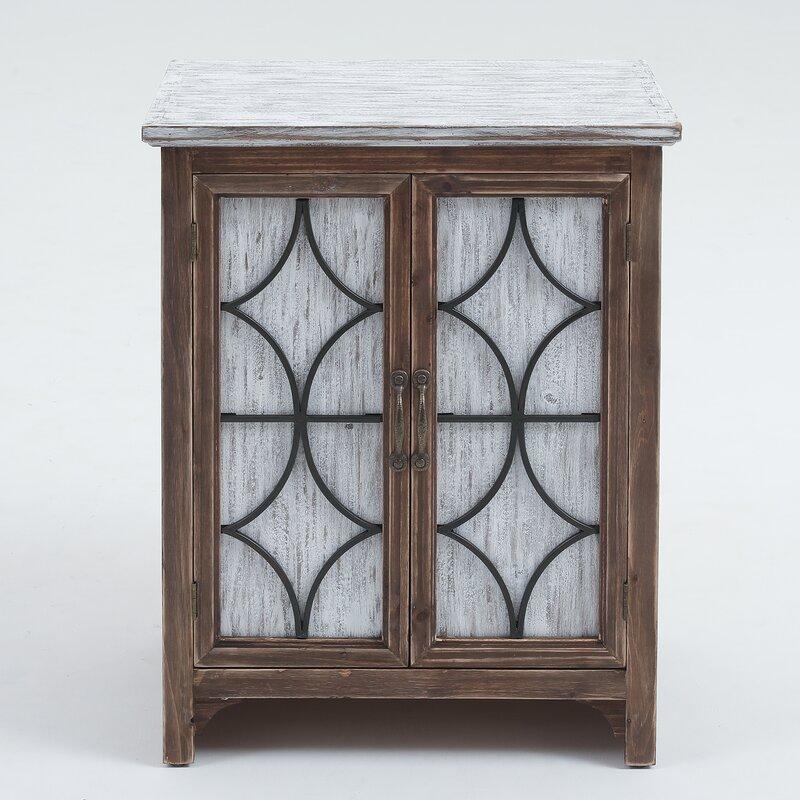 Seaver Decorative Wood 1 Door Accent Cabinet