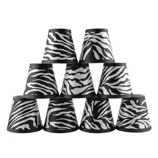 5 Zebra Empire Lamp Shade (Set of 9)
