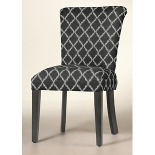 Curved Upholstered Dining Chair by Sloane..