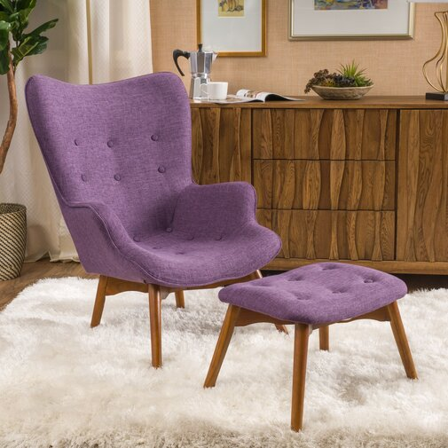 Canyon Vista Lounge Chair and Ottoman