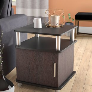 Wade Logan Elian End Table With Storage