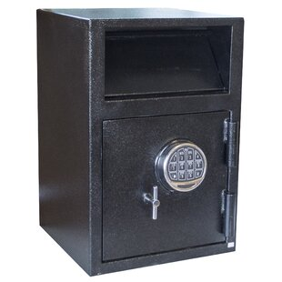 Buffalo Outdoor Depository Safe with Electronic Lock by