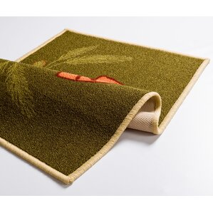 Josephine Kitchen Bakery Green Area Rug