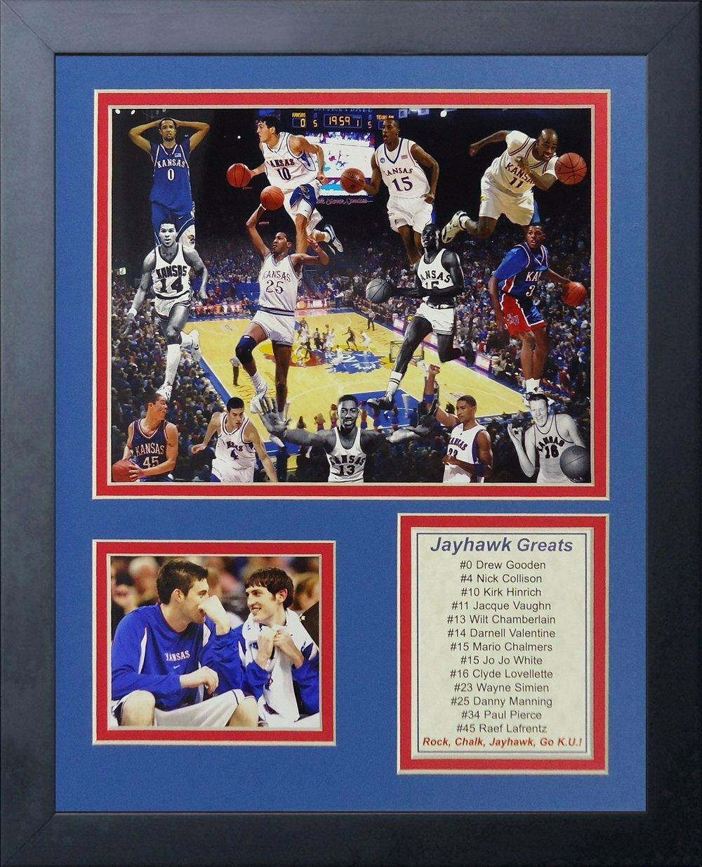11 x 14 Legends Never Die Paul Pierce Kansas Jayhawks Collage Photo Frame