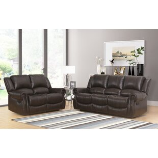 Digiovanni Reclining 2 Pieces Living Room Set