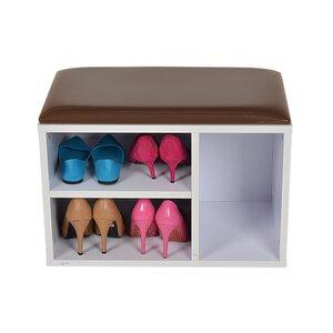Schuhschrank für 5 Paare von Hazelwood Home