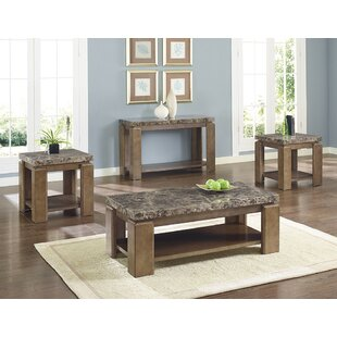 Vaughn 3 Piece Coffee Table Set