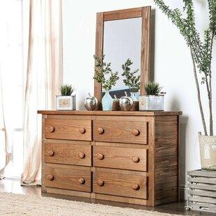 Kropp 6 Drawers Dresser by Millwood Pines