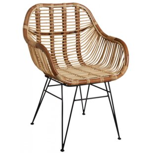 Flanders Natural Armchair By Bay Isle Home