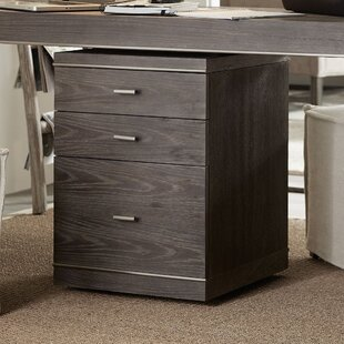House Blend 3-Drawer Mobile Vertical Filing Cabinet
