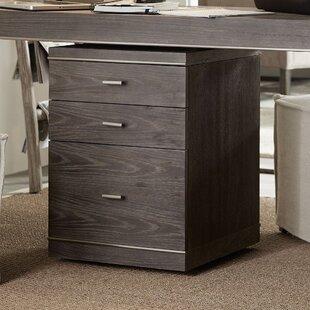 House Blend 3-Drawer Mobile Vertical Filing Cabinet by Hooker Furniture