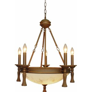 Clifden 5-Light Candle-Style Chandelier