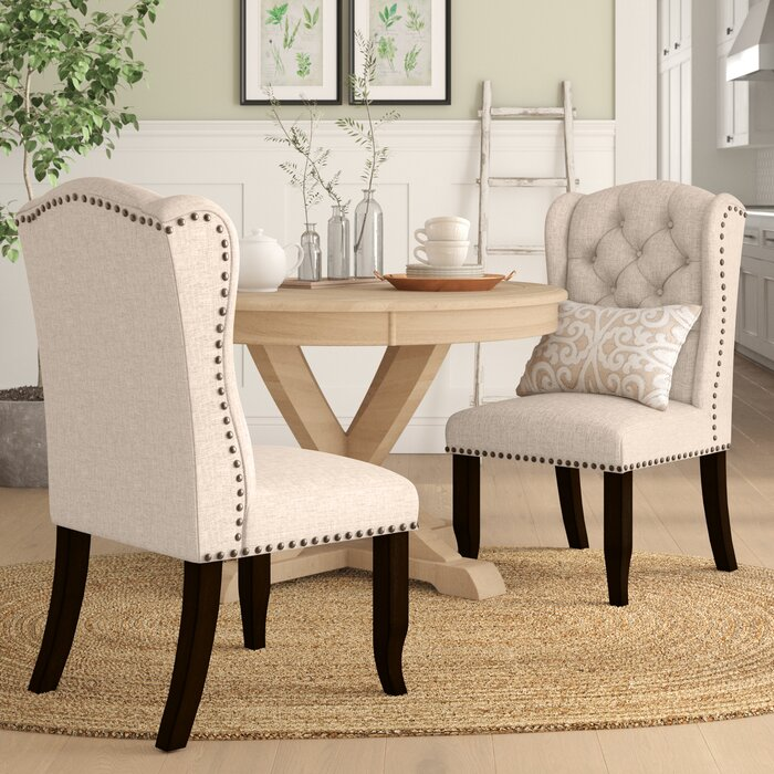 Tremendous Calila Upholstered Dining Chair Machost Co Dining Chair Design Ideas Machostcouk