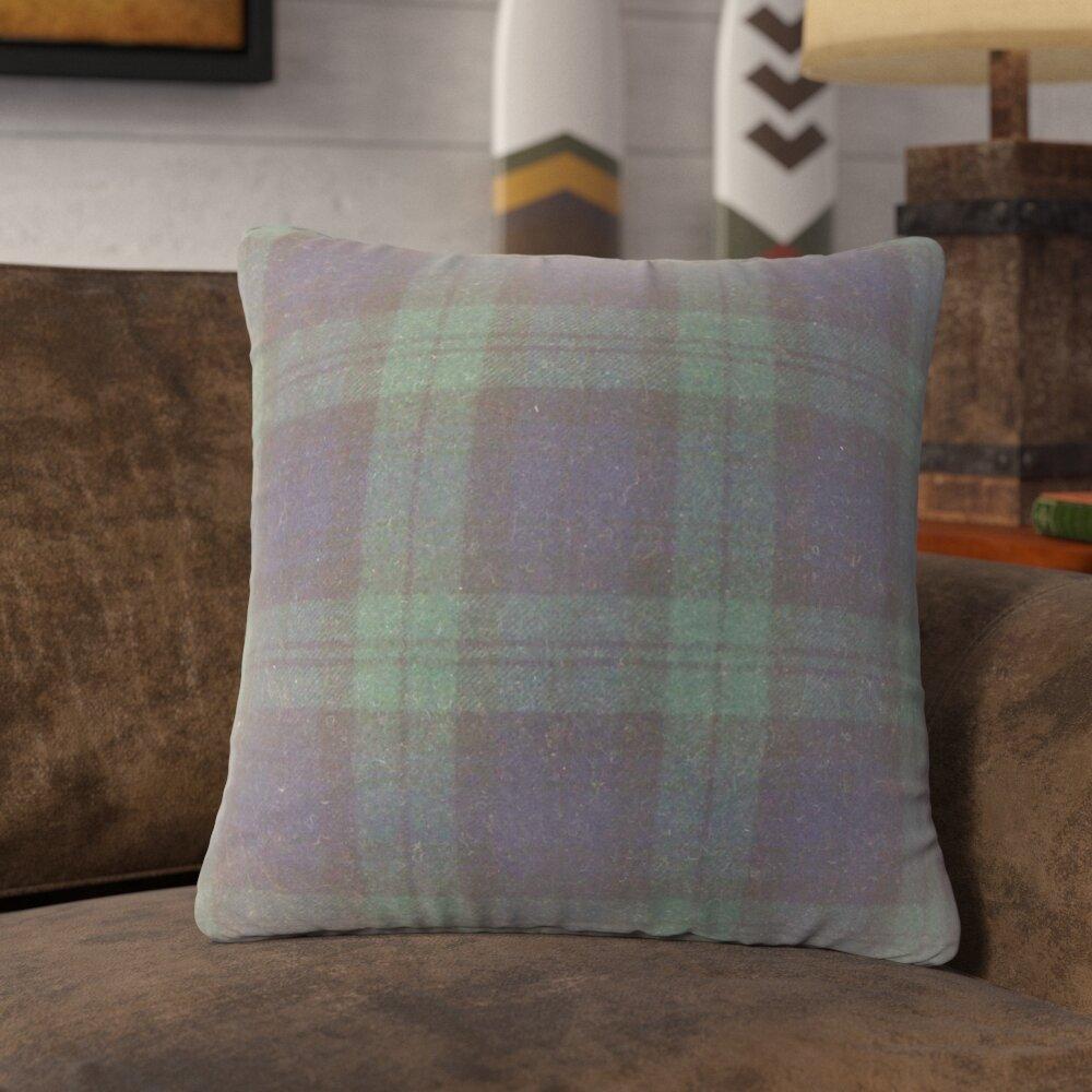 Loon Peak Sweeney Plaid Throw Pillow Wayfair