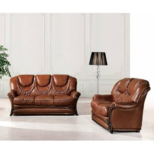 Ressler Wood Trim 2 Piece Sleeper Living Room Set