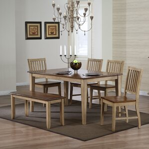 Huerfano Valley 6 Piece Dining Set by Loon Peak