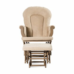 Krugerville Glider and Ottoman by Harriet Bee