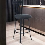 Chelce Swivel Bar & Counter Stool by Latitude Run®