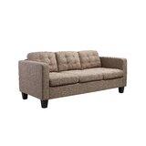 Southborough 3 Seat 74.8 Square Arm Sofa by Ebern Designs