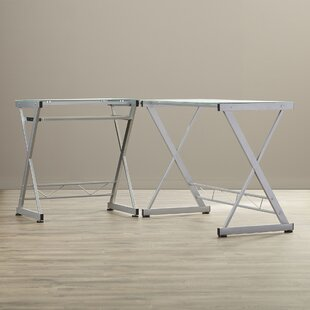 L-Shape Computer Desk by Wrought Studio 2019 Sale