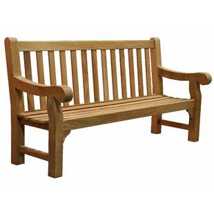Douglas Nance University Teak Park Bench