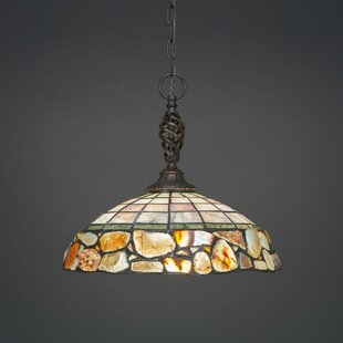 Astoria Grand Pierro 1-Light Bowl Pendant