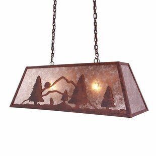 Steel Partners Bark at the Moon Canyon 2-Light Kitchen Island Pendant
