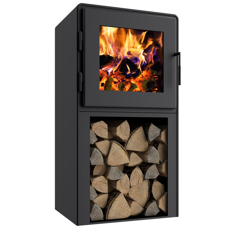 Mf Fire Nova 1500 Sq Ft Direct Vent Freestanding Wood Stove Wayfair