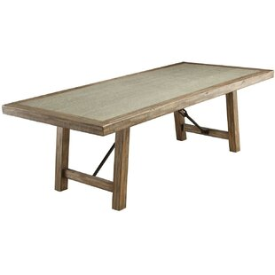 Gracie Oaks Shaylee Solid Wood Dining Table