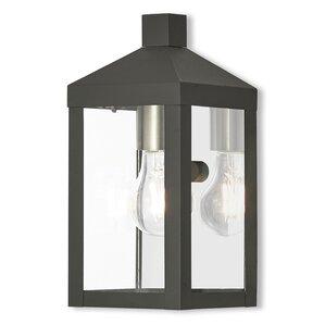 Demery 1 Light Outdoor Wall Lantern
