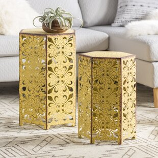 Lexia 2 Piece Nesting Tables Mistana