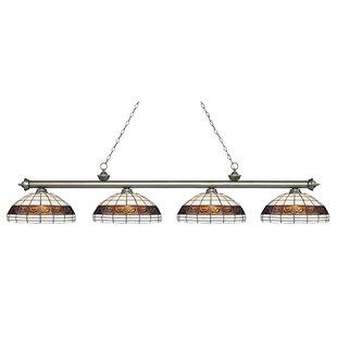 Fleur De Lis Living Billington 4-Light Pool Table Lights Pendant