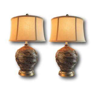 Nichol 28 Table Lamp Set (Set Of 2) by Bloomsbury Market 2019 Coupon