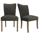 Grable Seating Double Dow Upholstered Side Chair (Set of 2) by Red Barrel Studio®
